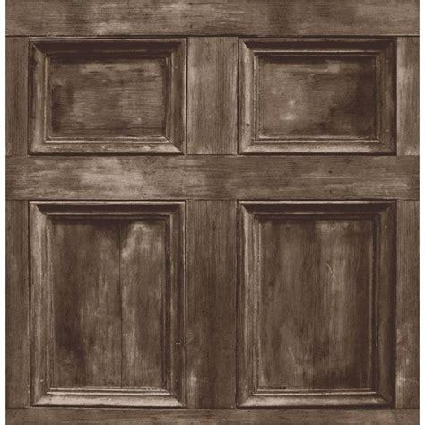 Wood Wall Panel Decor by Decor Wood Panel Wallpaper Chocolate Brown Ebay