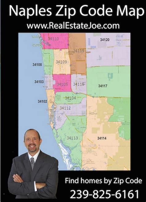 naples zip code map find homes in naples by zip code
