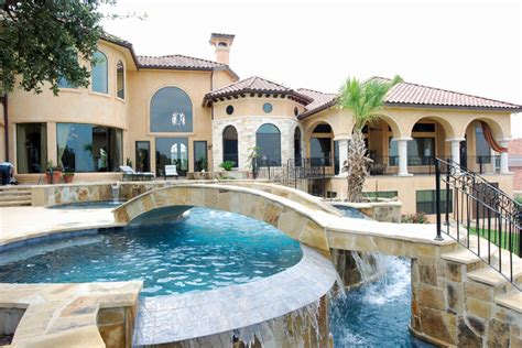 homes with pool swimming pools by stadler custom homes mediterranean