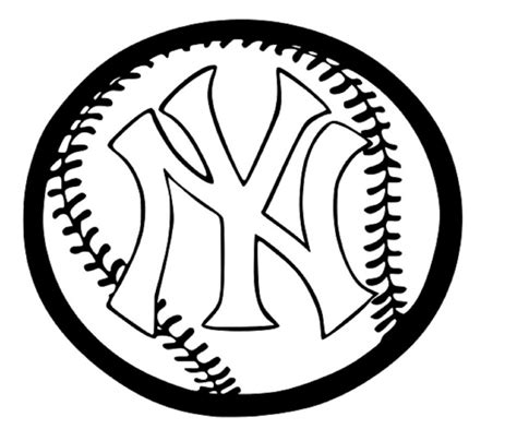yankees coloring pages printable 7 images of mlb logo coloring pages new york yankees