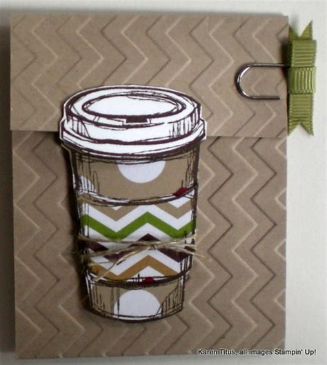 How To Fold Starbucks Gift Card Holder - a perfect blend for that starbucks coffee gift card holder