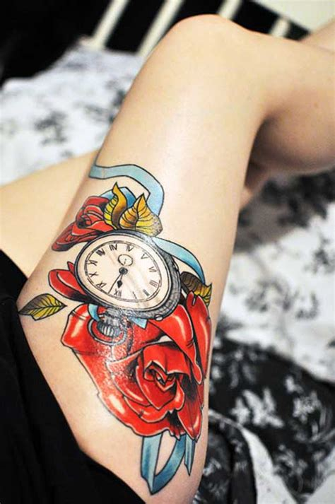 imagenes de rosas trival 20 fotos de tatuagens de rel 243 gio significados