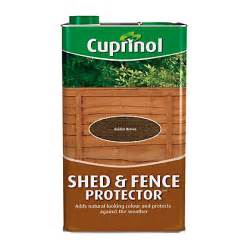 Homebase Shed Paint by Cuprinol Shed And Fence Protector Golden Brown 5l