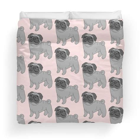 pug design quilt cover 212 best images about duvet covers on pinterest twin