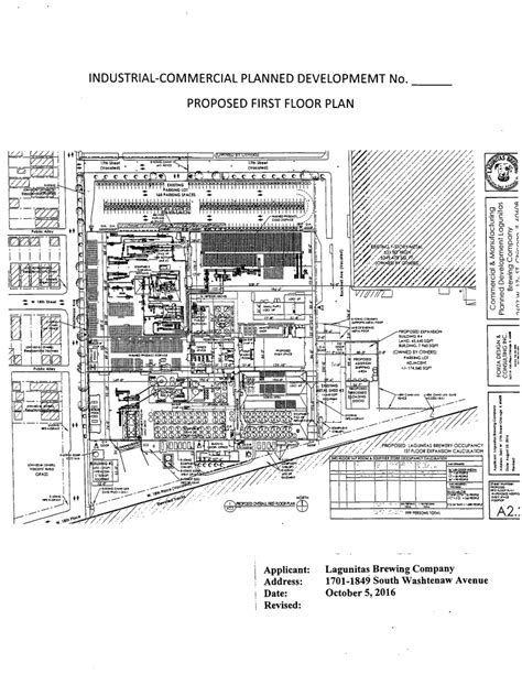 lagunitas chicago brewery 1st floor plan blog the factory expansion comes to a head in douglas park