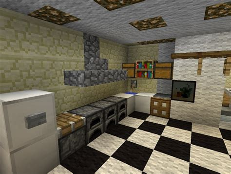 Kitchen Ideas Minecraft by Kitchens In Minecraft Homes Decoration Tips