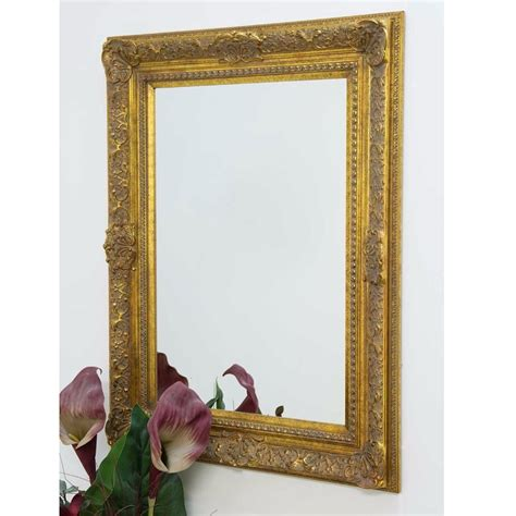 large decorative ornate gold antique french style wall