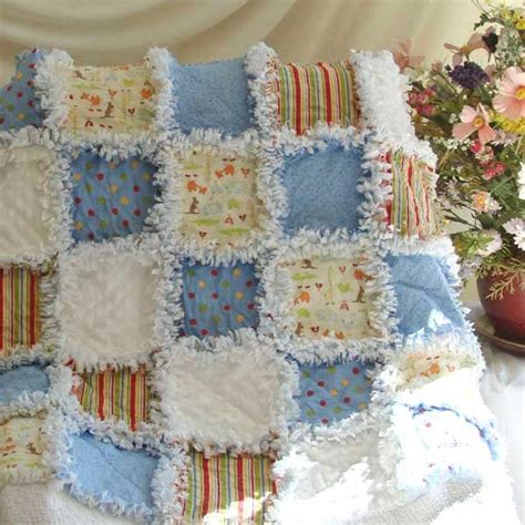 Rag Quilt Pattern Baby by Rag Baby Quilt Patterns Zoo Animals Baby Rag Quilt
