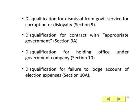 section 10a conviction nomination process as on january 2014