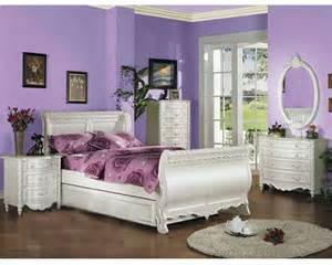 acme bedroom furniture acme furniture bedroom set in pearl white ac01010tset