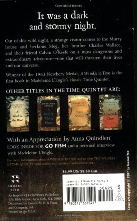 A Wrinkle In Time Time Quintet a wrinkle in time time quintet tapestry books