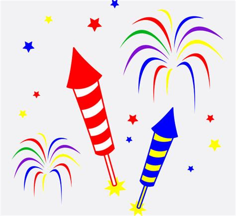 free jpg clipart fireworks clip free