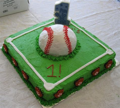 Baseball Cakes ? Decoration Ideas   Little Birthday Cakes
