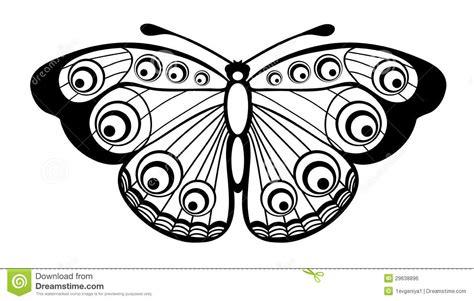 imagenes blanco y negro de mariposas mariposa blanco y negro hermosa aislada en blanco