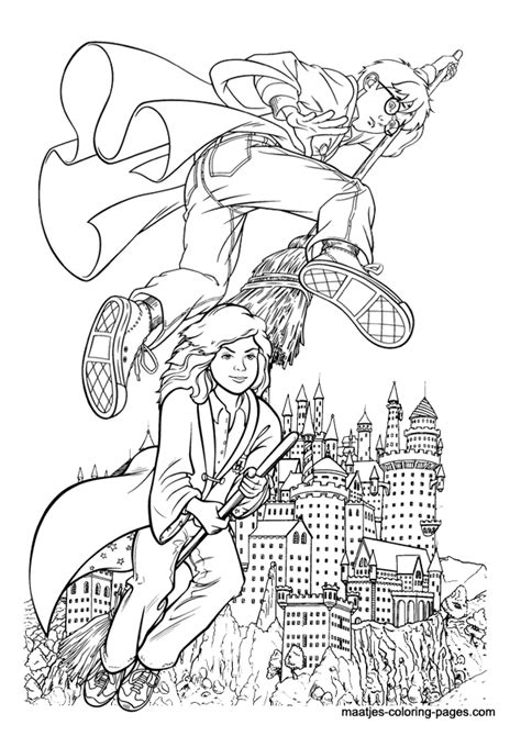 harry potter quidditch coloring pages free coloring pages of harry potter quidditch