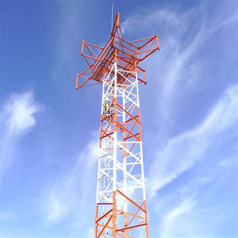 40 ss rtr antenna tower 6 arm assembled antenna products corporation