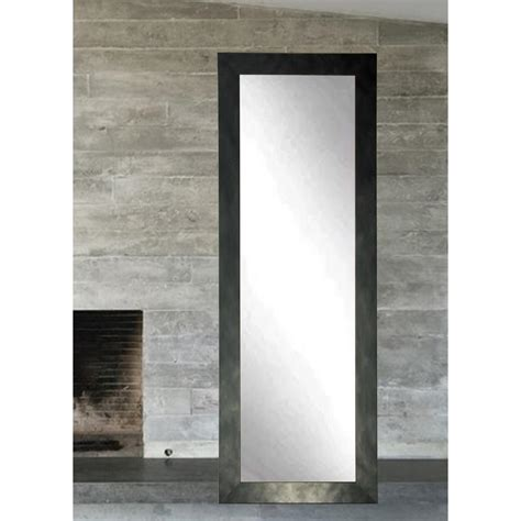 full length lighted wall mirrors weathered beach full length wall mirror bm23thin the