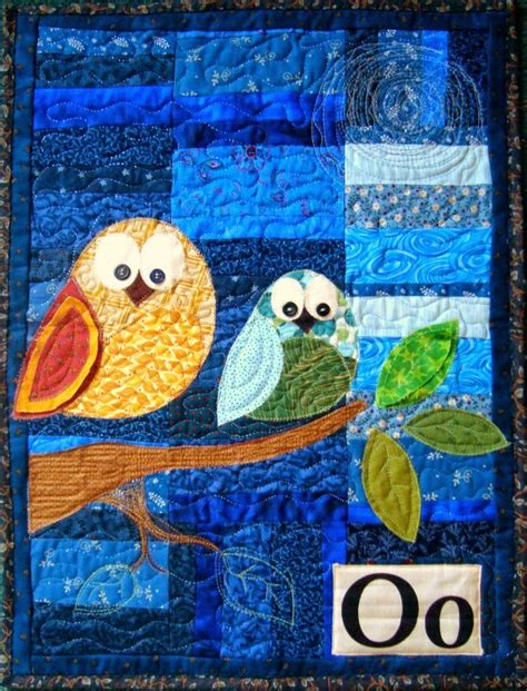 Patchwork Owl Pattern - quilt inspiration free pattern day owls