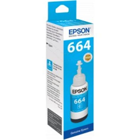 Epson Ink Bottle T6642 Cyan epson ink cyan ink for the epson ink tank printer