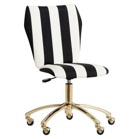 black and gold desk chair emily meritt airgo black white stripe chair