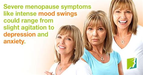 severe mood swings depression severe menopause symptoms