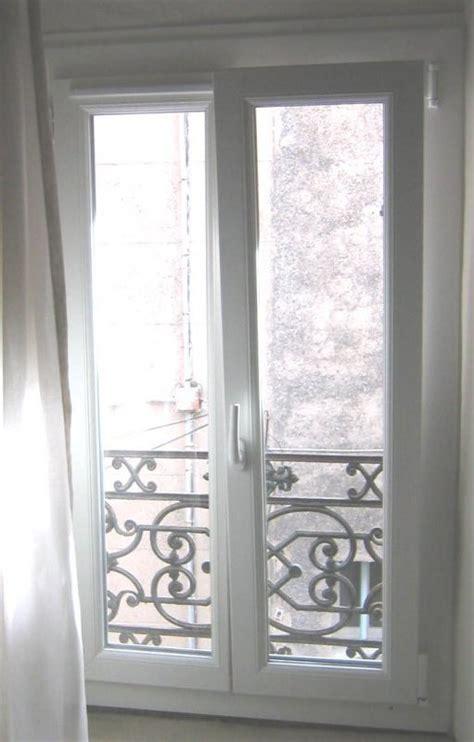 grille aeration fenetre 7619 fenetre 2 vantaux oscillo battant en pvc blanc avec grille
