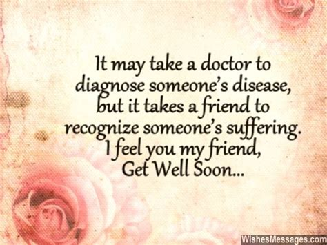 Get Well Soon Quotes To by Get Well Soon Quotes For Friends Quotesgram