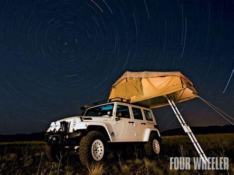overland jeep tent jeep cing jedi level www theadventureportal com