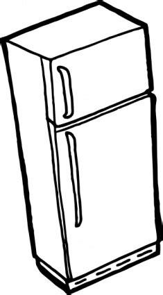 Clipart contour de réfrigérateur clip-arts, cliparts