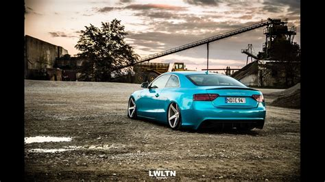 Audi A5 Coupe Tuning by Tuning Audi A5 Coup 233 3 0 Tdi Quattro Vossen Cv3