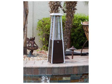 Az Patio Heaters Az Patio Heaters Portable Bronze Glass Patio Heater Hlds032 Gtthg