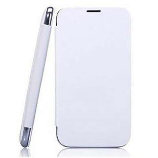 Casing Hp Nokia Asha nokia asha 501 premium flip cover white black new box