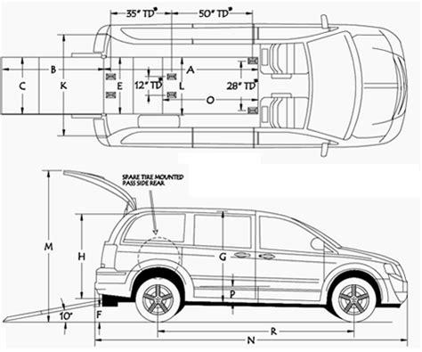 interior dimensions dodge grand caravan interior dimensions car interior design