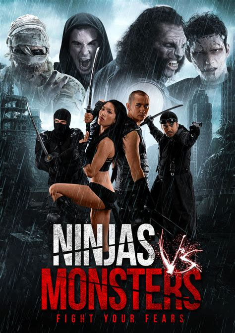 film ninja comedy ninjas vs monsters trailer dracula frankenstein witches