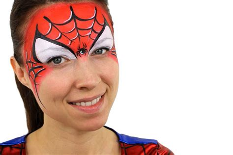 paint man face painting for kids spiderman www pixshark com