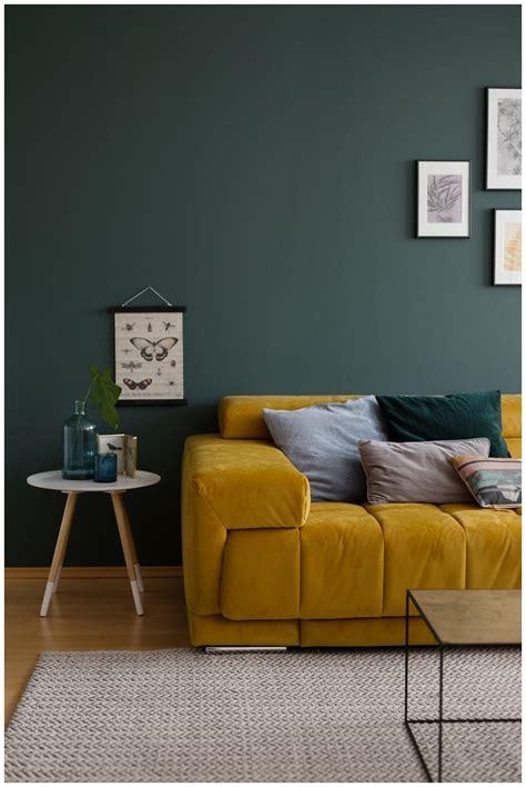 ideen fürs schlafzimmer senfgelb und blau abenteuer farbe ein wohnzimmer in gr 252 n i interior