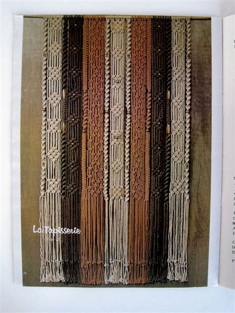 Macrame Book - macrame home decor pattern book macrame home and