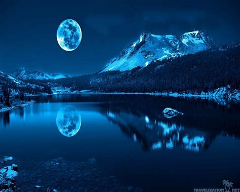 wallpaper blue beautiful blue moon wallpapers wallpaper cave