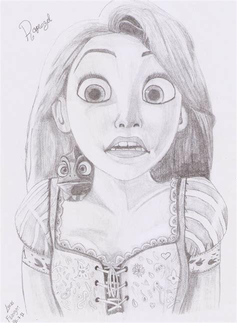 dibujos realistas lápiz dibujo realista de rapunzel 2 im 225 genes taringa
