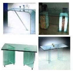 glass furniture center table manufacturer from noida