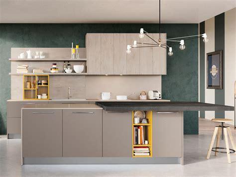 cucina con isola moderna arredamento mobili