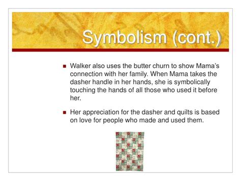 What Does The Quilt Represent In Everyday Use by Ppt Everyday Use Powerpoint Presentation Id 1184851