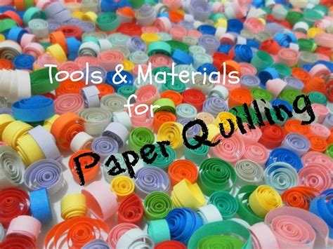 Materials For Paper - tools materials for paper quilling 187 paper quilling