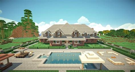 Luxe Home Design Inc traditional brick house minecraft house design