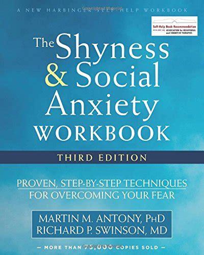 Pdf Shyness Social Anxiety Workbook Step starjolbks on marketplace sellerratings