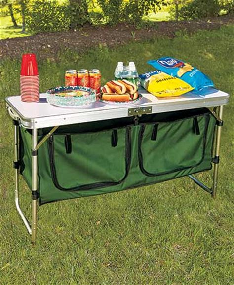 Portable Kitchen Table by Portable Cing Kitchen Table With Storage The Lakeside