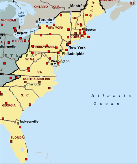 map us east coast major cities adventures in ny boston and elsewhere predictions for
