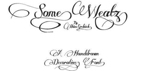 33 attractive and elegant fonts blueblots com