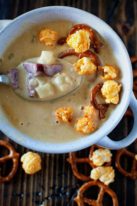 couch soup couch potato beer cheese soup