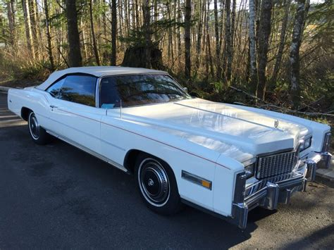 1976 Cadillac Eldorado For Sale in Snoqualmie, Washington